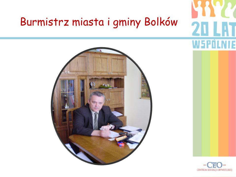 Burmistrz miasta i gminy Bolków