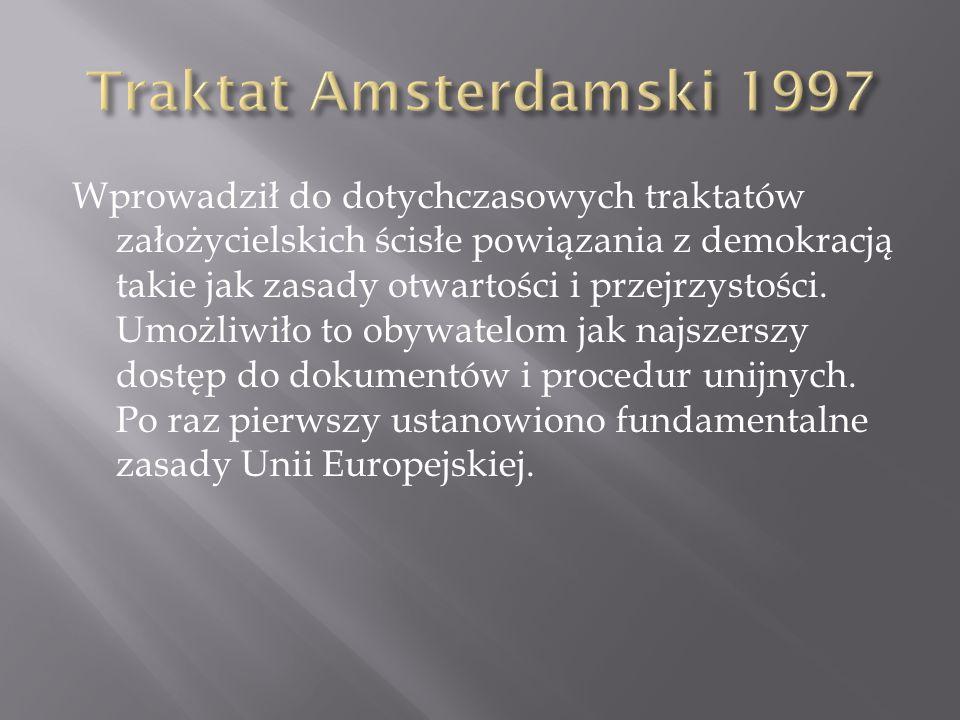 Traktat Amsterdamski 1997