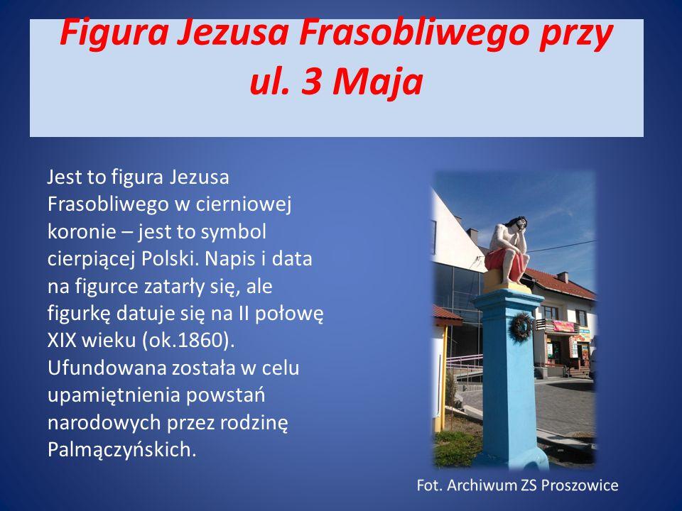Figura Jezusa Frasobliwego przy ul. 3 Maja