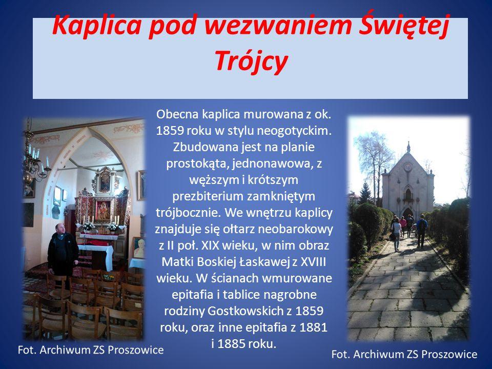 Kaplica pod wezwaniem Świętej Trójcy