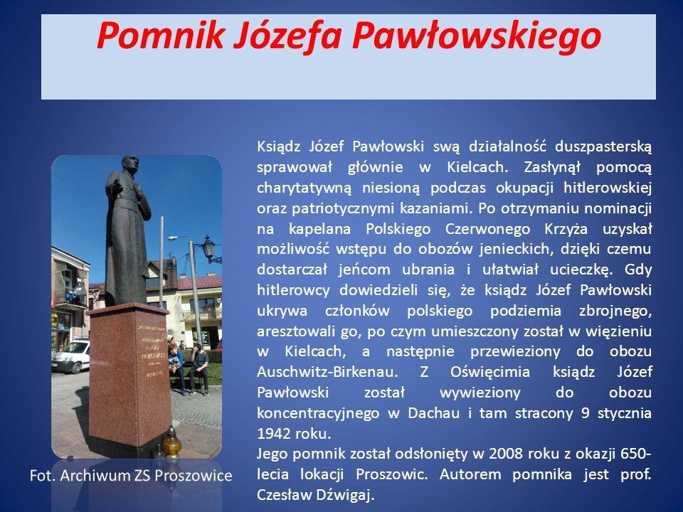 Pomnik Józefa Pawłowskiego