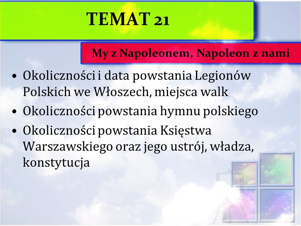 My z Napoleonem, Napoleon z nami