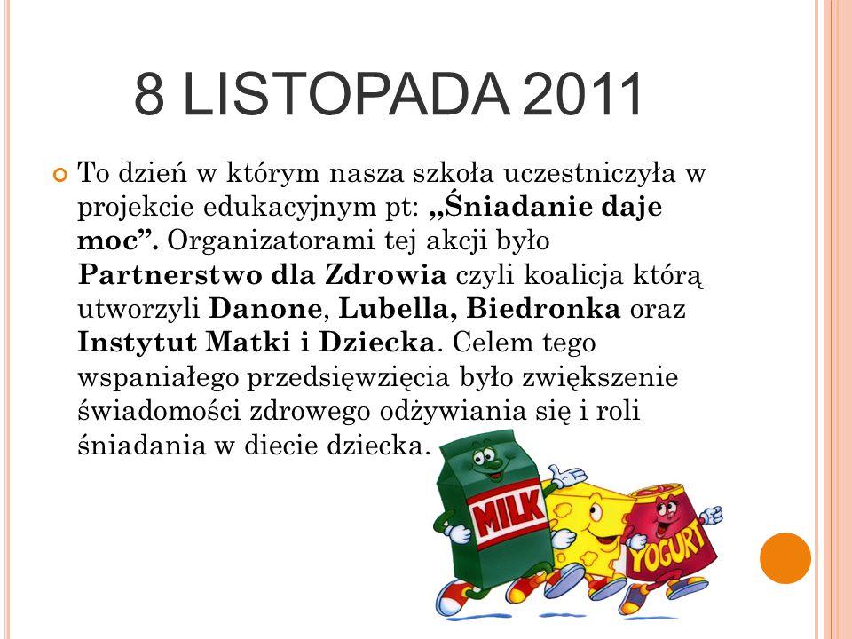 8 LISTOPADA 2011