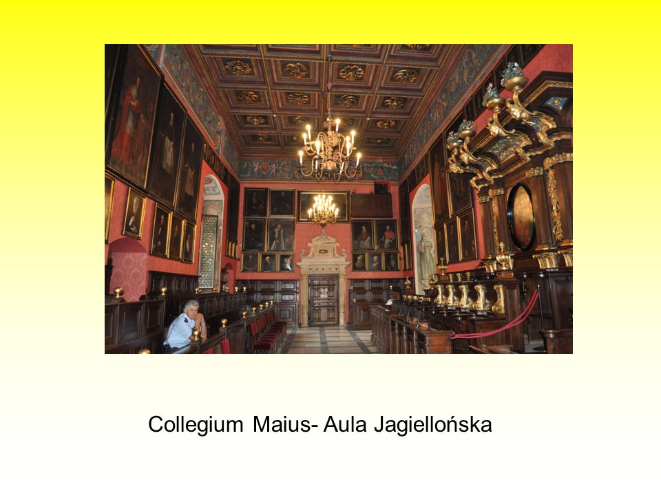 Collegium Maius- Aula Jagiellońska