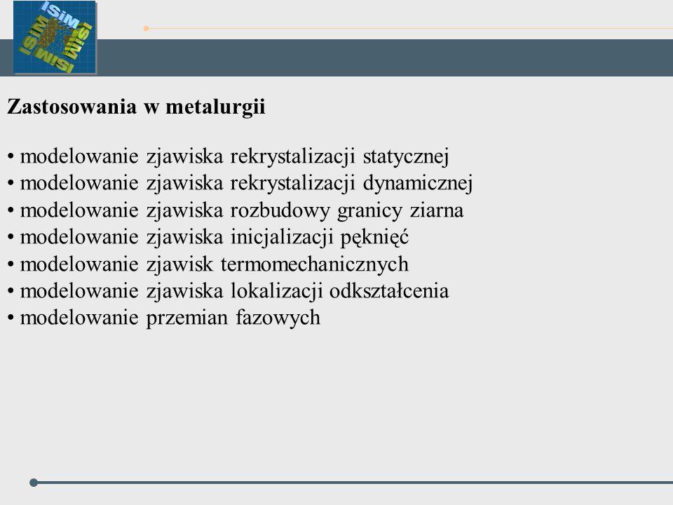 Zastosowania w metalurgii