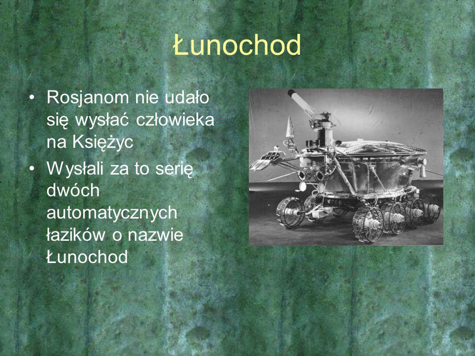 Łunochod Rosjanom nie udało się wysłać człowieka na Księżyc