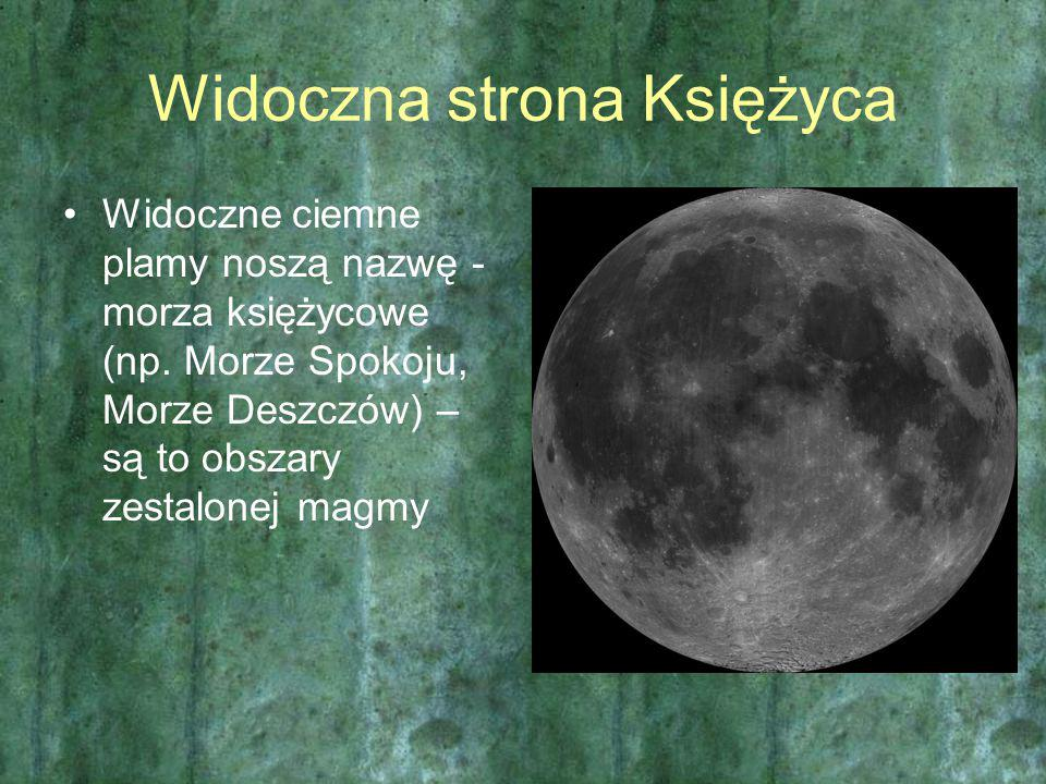 Widoczna strona Księżyca