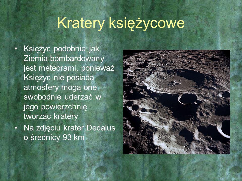 Kratery księżycowe