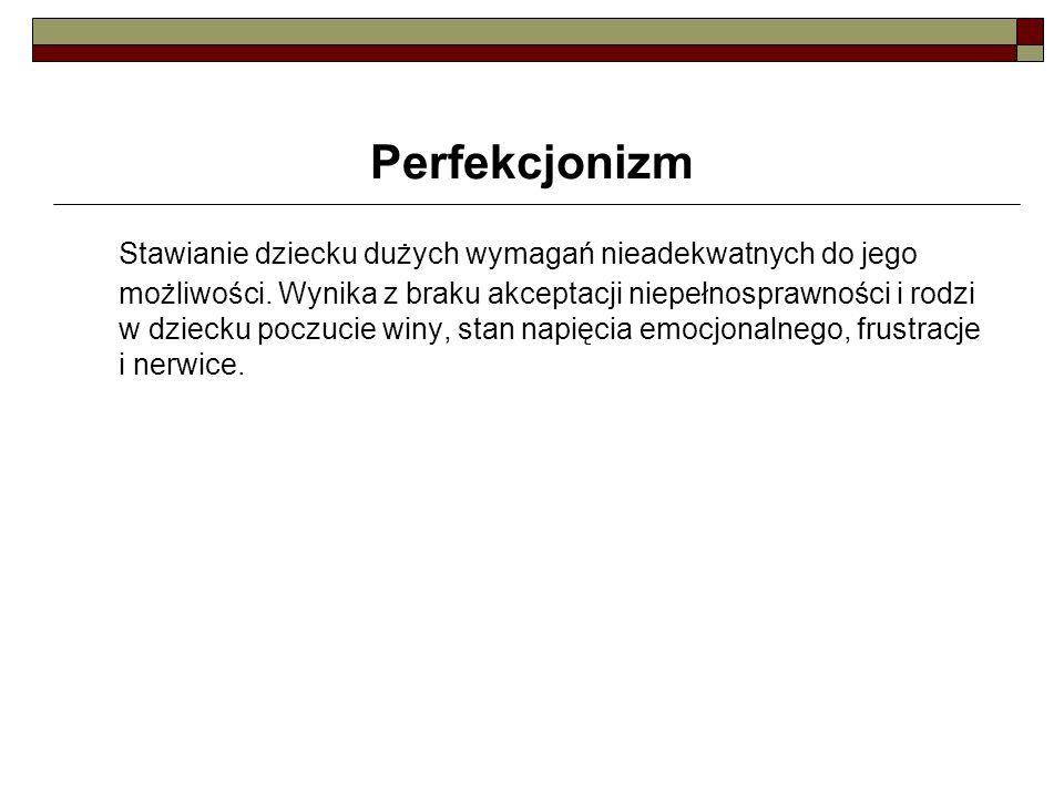 Perfekcjonizm