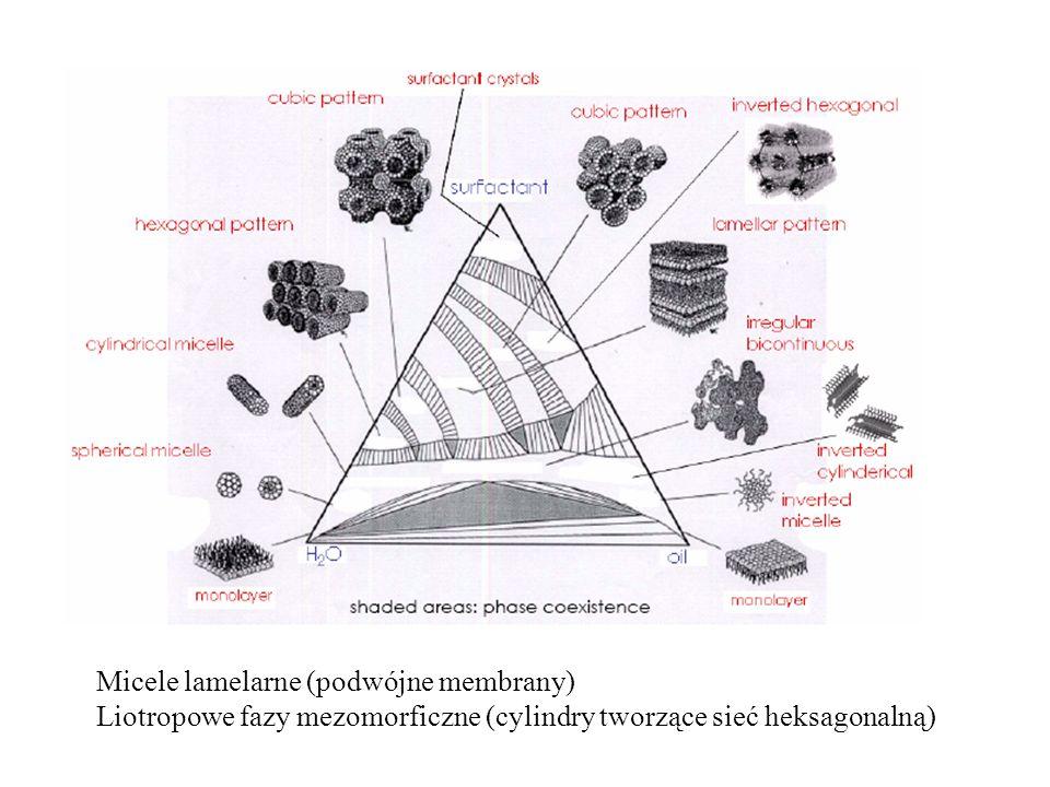 Micele lamelarne (podwójne membrany)