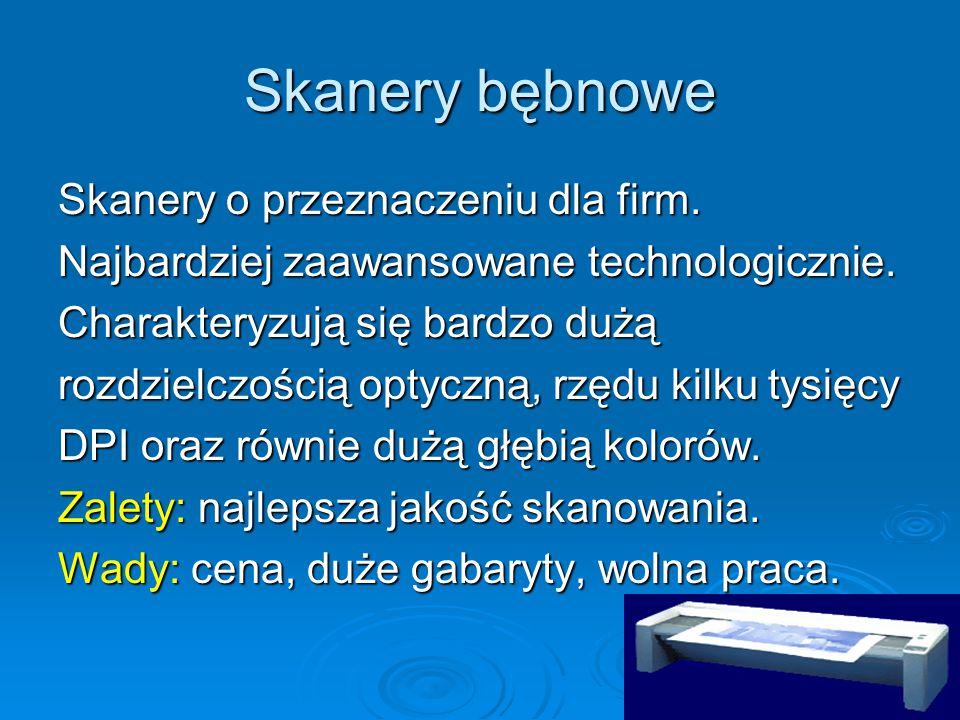 Skanery bębnowe Skanery o przeznaczeniu dla firm.
