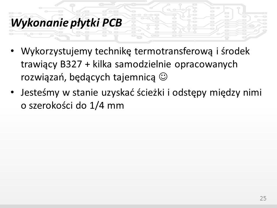 Wykonanie płytki PCB