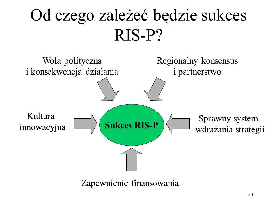 Od czego zależeć będzie sukces RIS-P
