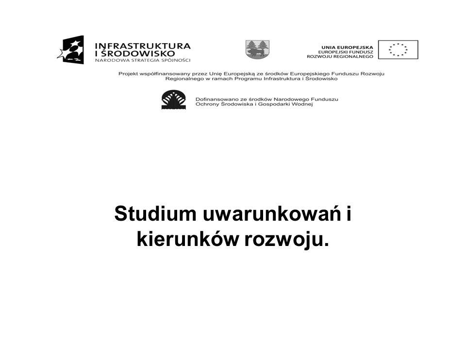 Studium uwarunkowań i kierunków rozwoju.