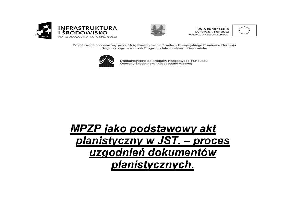 MPZP jako podstawowy akt planistyczny w JST