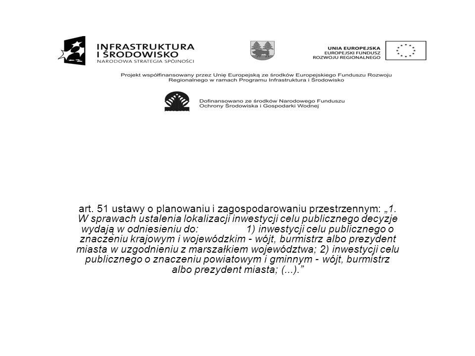 """art. 51 ustawy o planowaniu i zagospodarowaniu przestrzennym: """"1"""