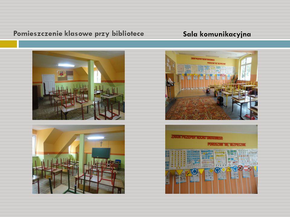 Pomieszczenie klasowe przy bibliotece