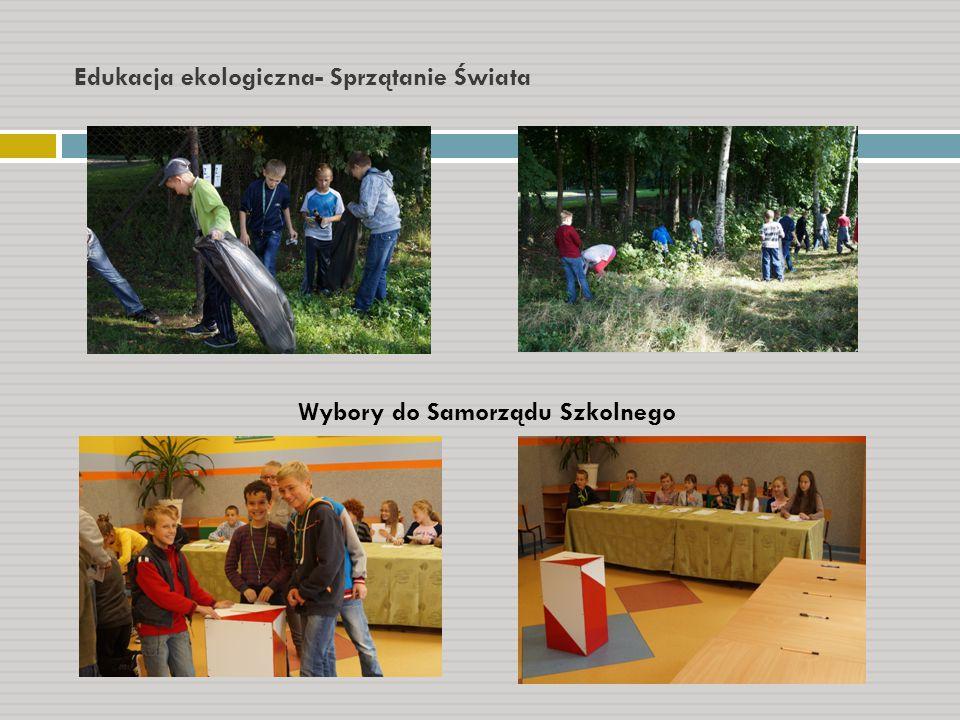 Edukacja ekologiczna- Sprzątanie Świata