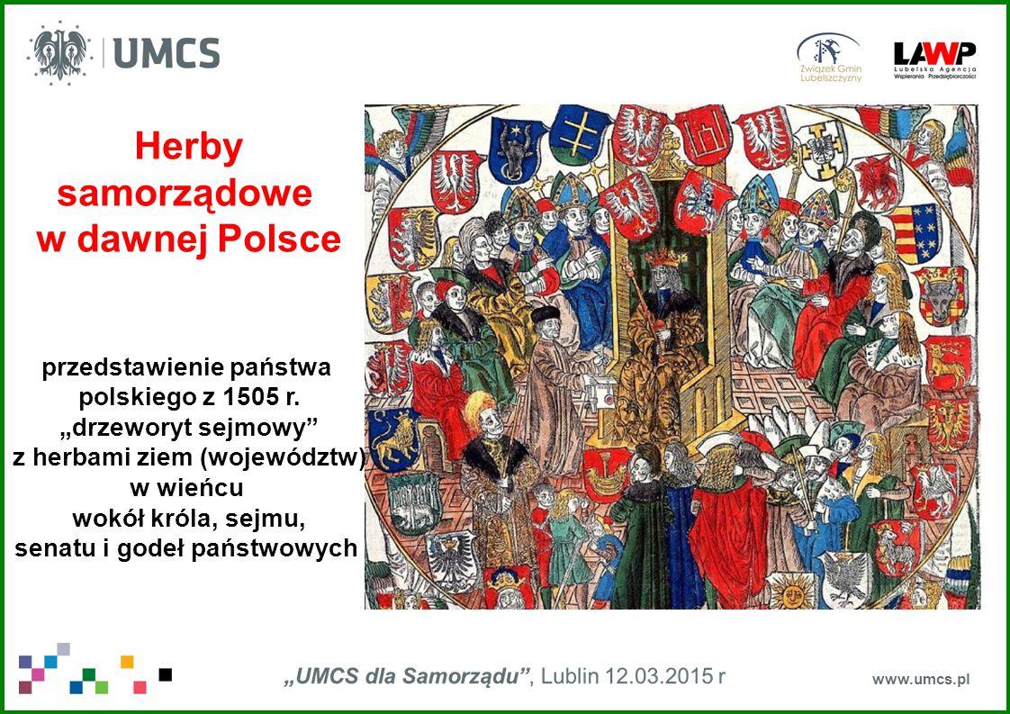 Herby samorządowe w dawnej Polsce