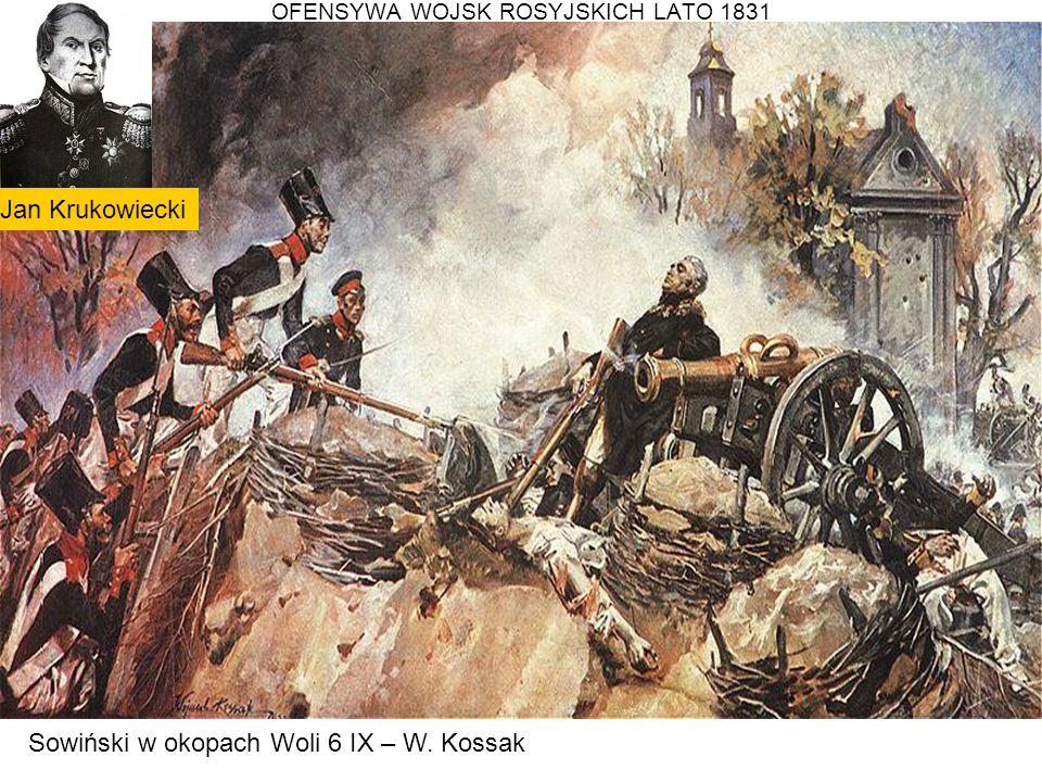 OFENSYWA WOJSK ROSYJSKICH LATO 1831