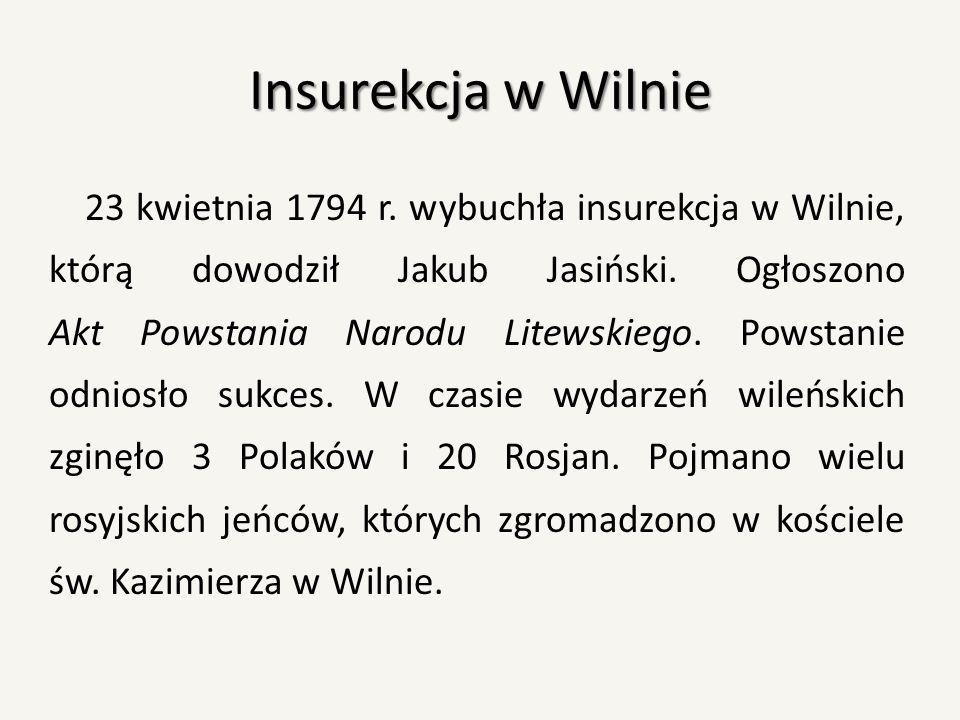 Insurekcja w Wilnie