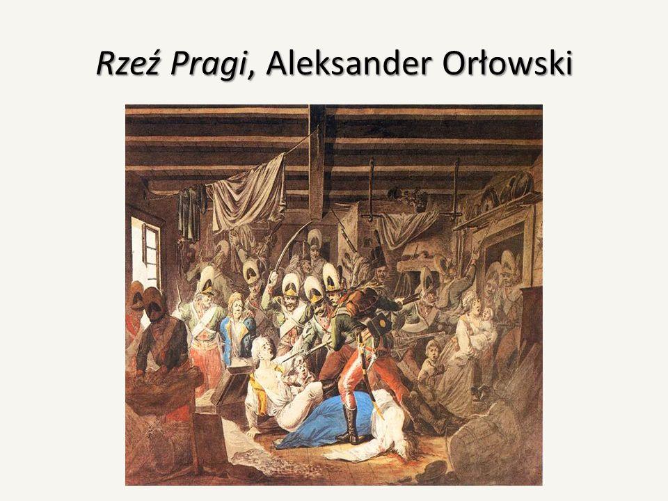 Rzeź Pragi, Aleksander Orłowski