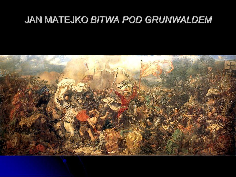 JAN MATEJKO BITWA POD GRUNWALDEM