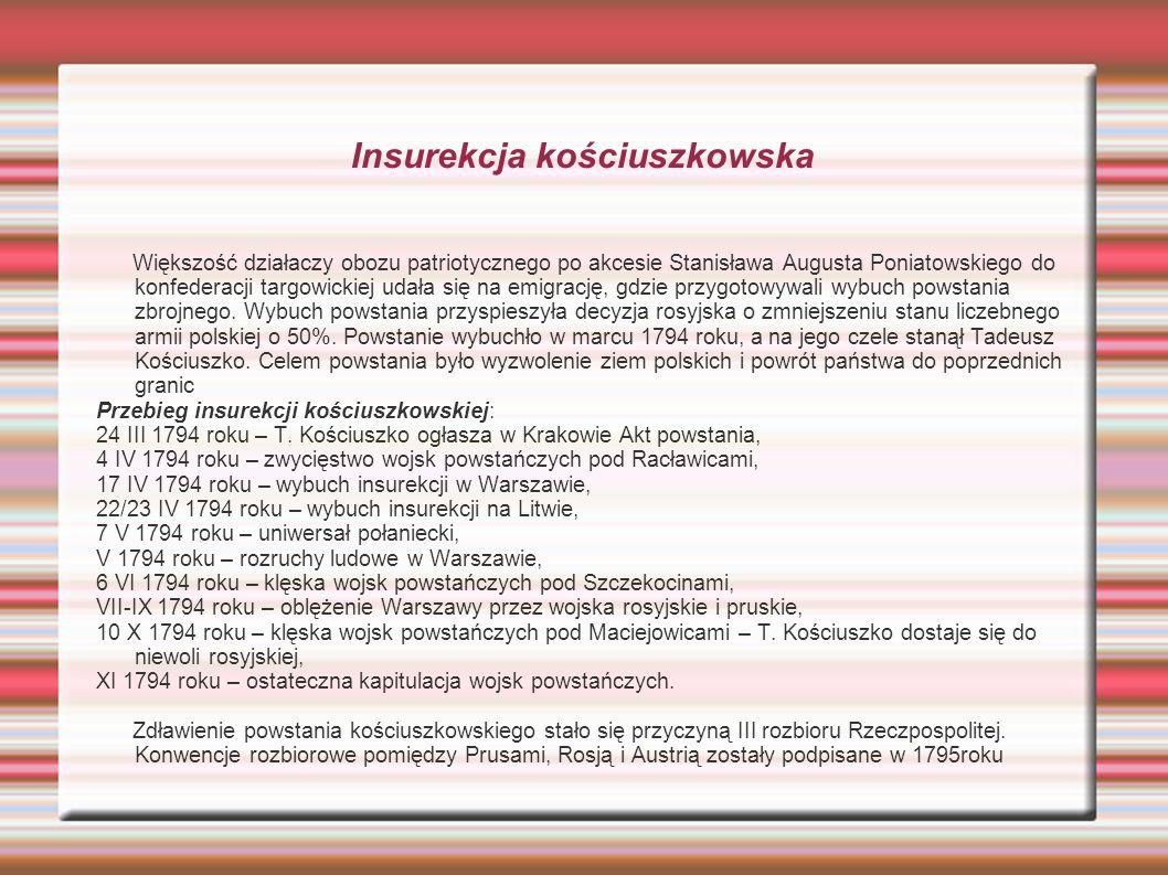 Insurekcja kościuszkowska