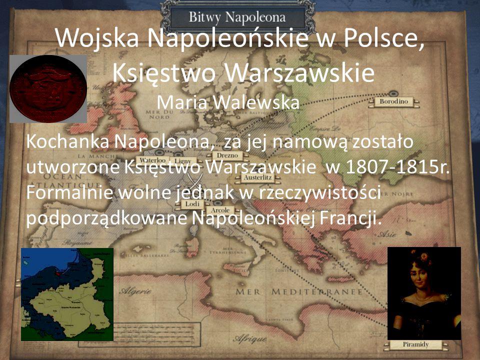 Wojska Napoleońskie w Polsce, Księstwo Warszawskie