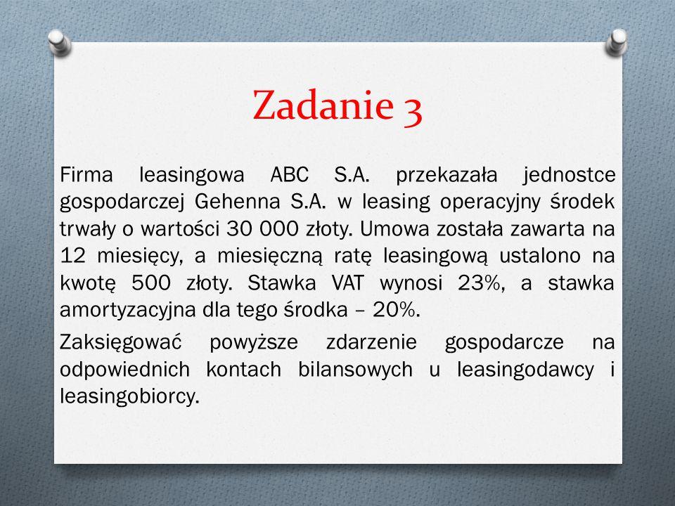 Zadanie 3