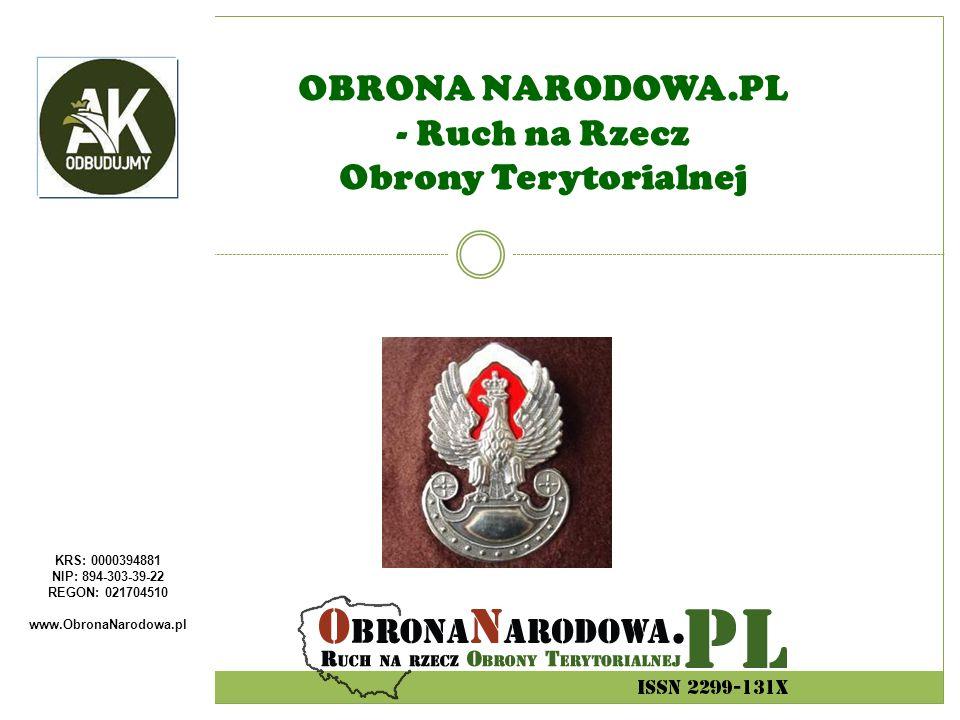 OBRONA NARODOWA.PL - Ruch na Rzecz Obrony Terytorialnej
