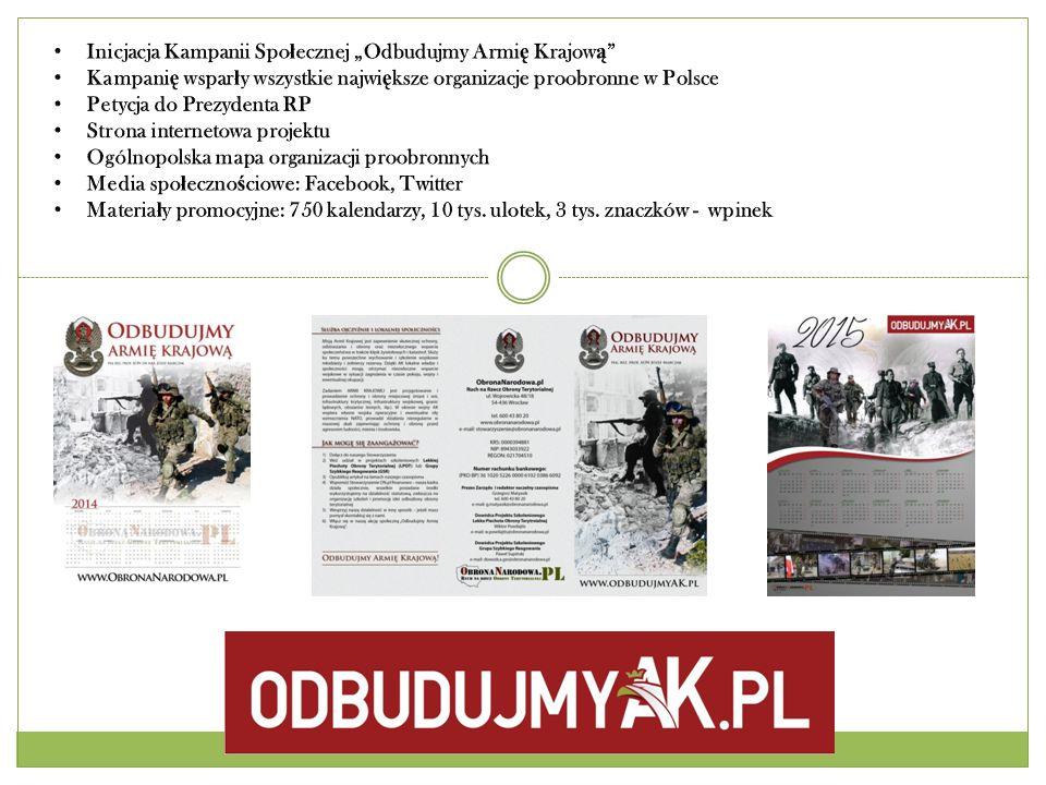"""Inicjacja Kampanii Społecznej """"Odbudujmy Armię Krajową"""
