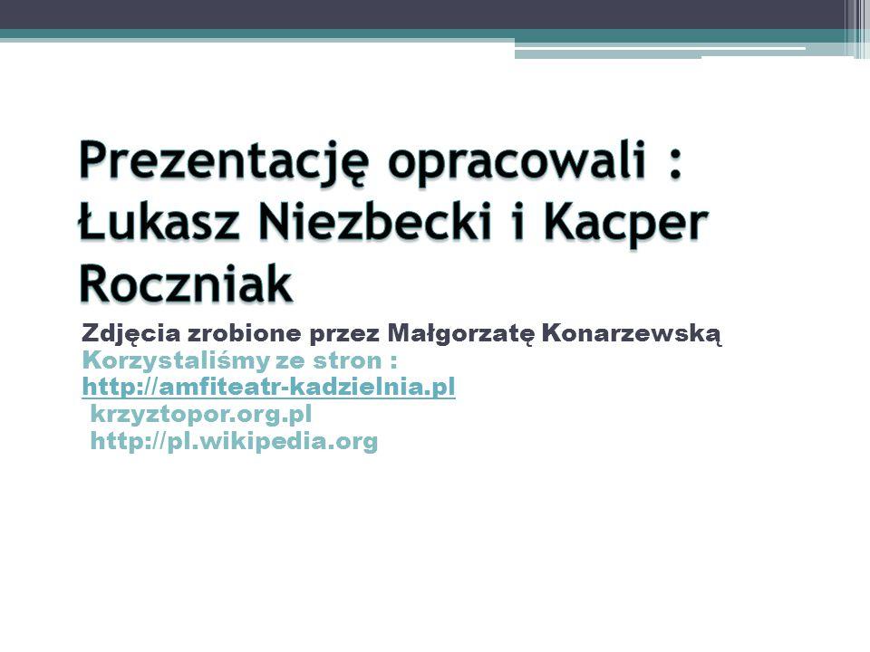 Prezentację opracowali : Łukasz Niezbecki i Kacper Roczniak