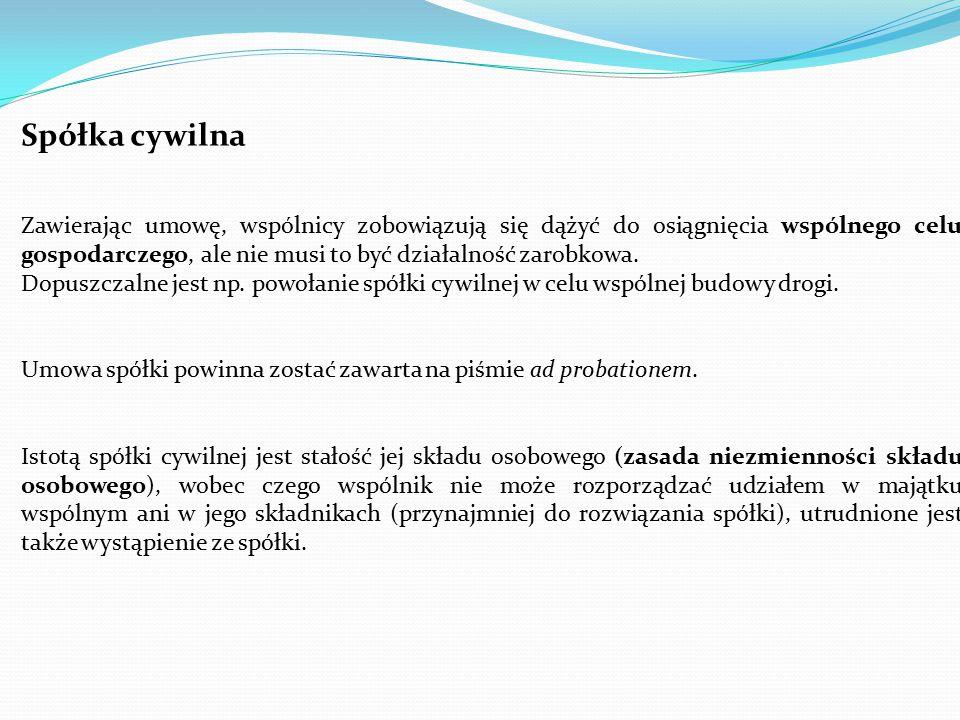Spółka cywilna