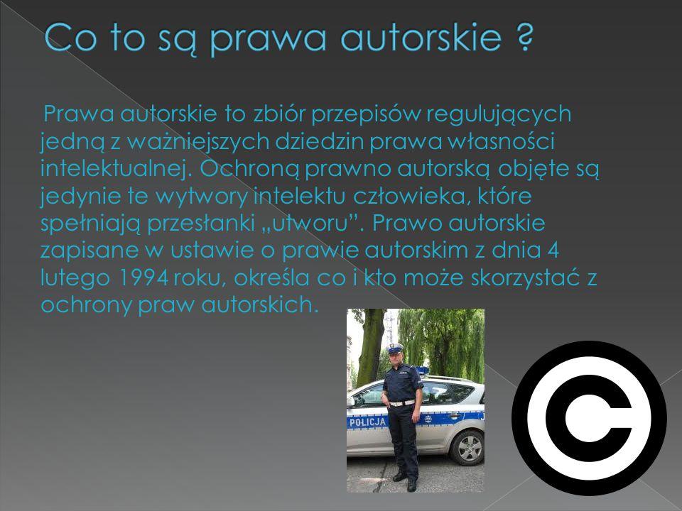 Co to są prawa autorskie