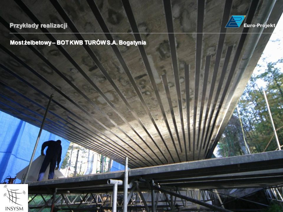 Przykłady realizacji Most żelbetowy – BOT KWB TURÓW S.A. Bogatynia