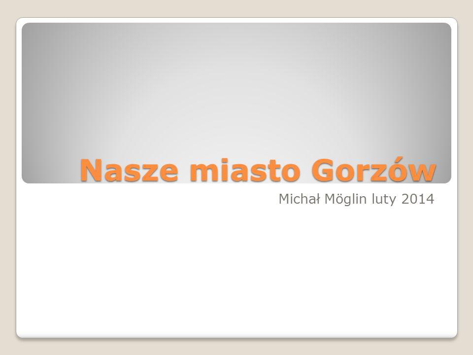 Nasze miasto Gorzów Michał Möglin luty 2014