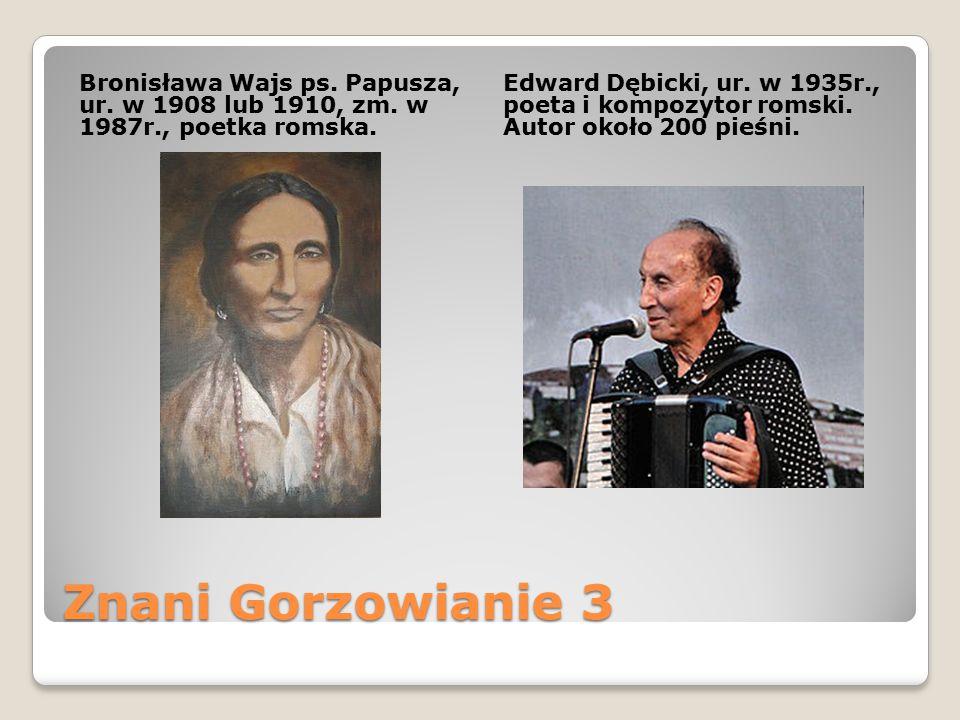 Bronisława Wajs ps. Papusza, ur. w 1908 lub 1910, zm. w 1987r