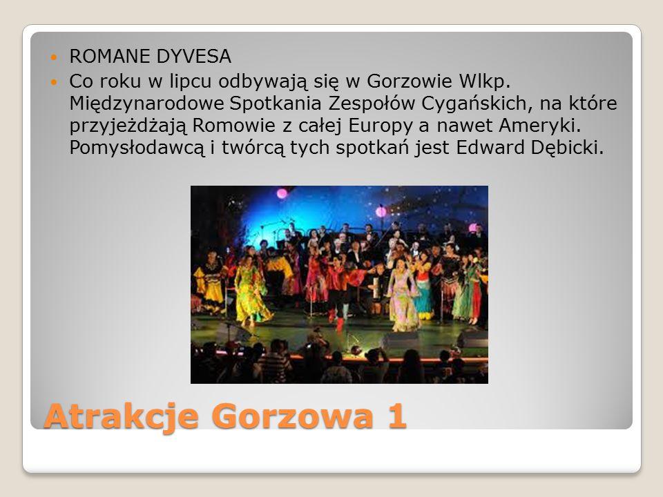 Atrakcje Gorzowa 1 ROMANE DYVESA