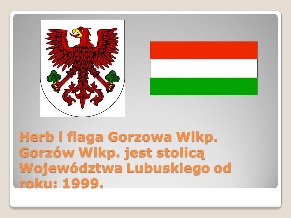 Herb i flaga Gorzowa Wlkp. Gorzów Wlkp