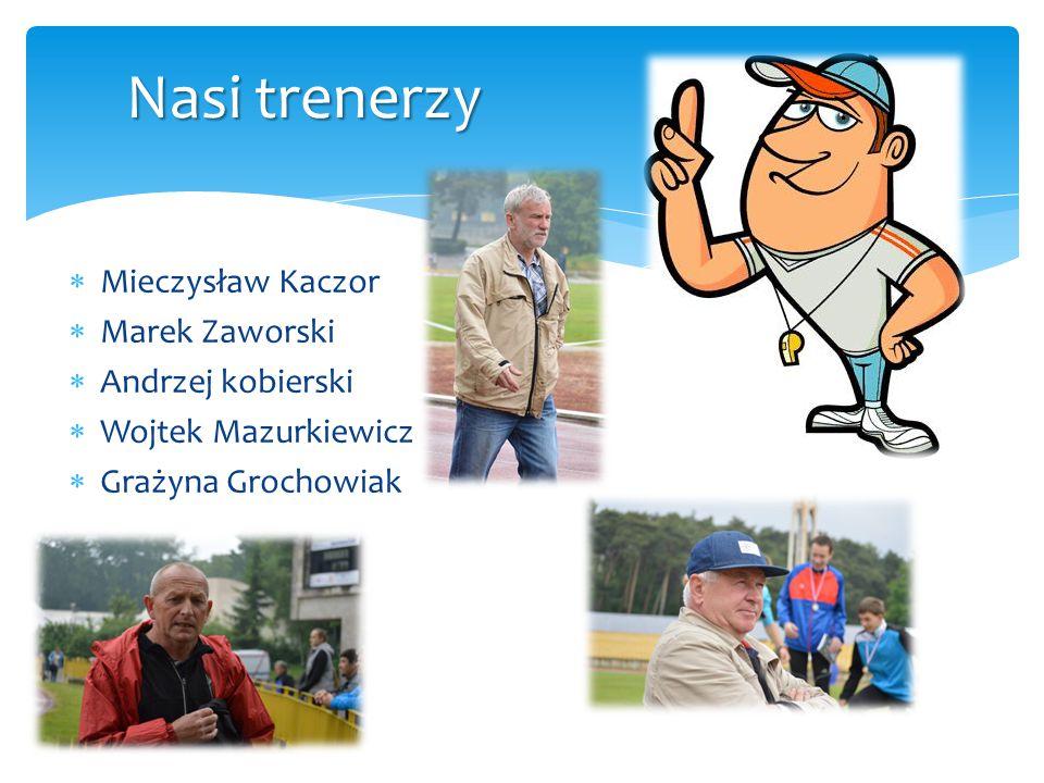 Nasi trenerzy Mieczysław Kaczor Marek Zaworski Andrzej kobierski