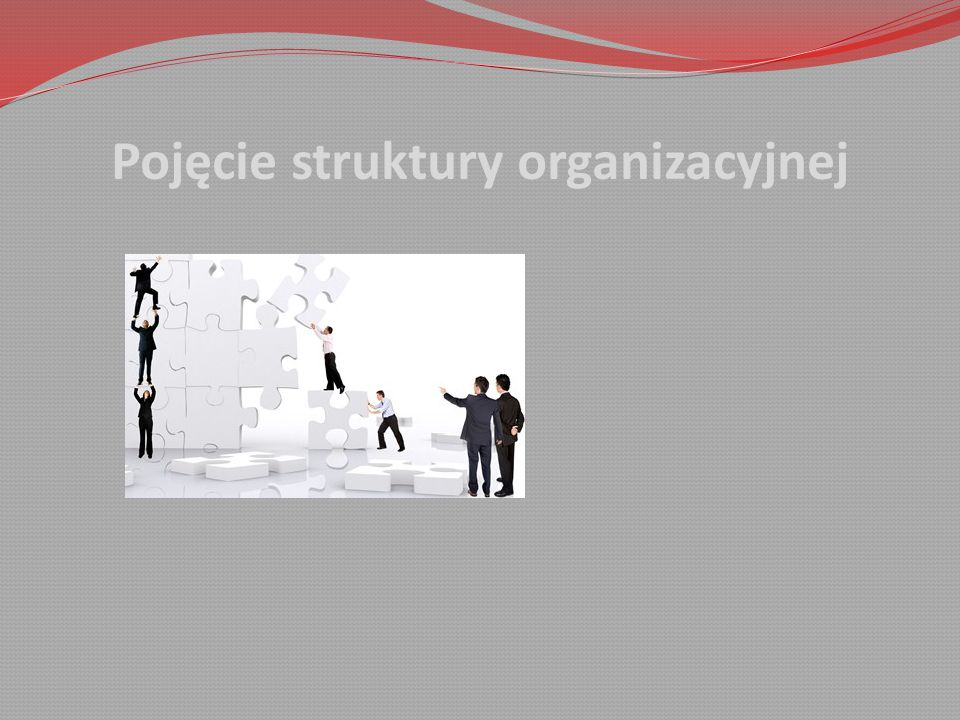 Pojęcie struktury organizacyjnej