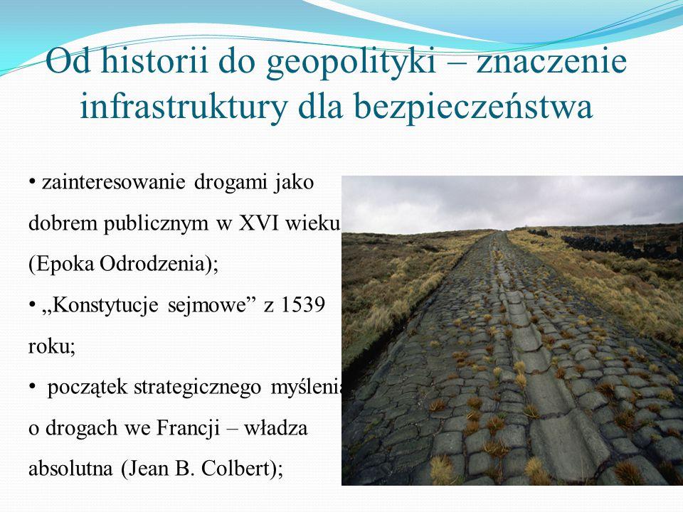 Od historii do geopolityki – znaczenie infrastruktury dla bezpieczeństwa