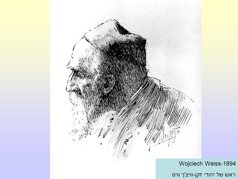 Wojciech Weiss-1894 ראש של יהודי זקן-וויצ ך וויס