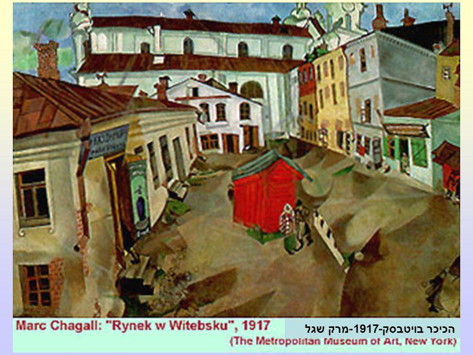 הכיכר בויטבסק-1917-מרק שגל