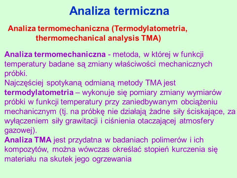 thermomechanical analysis TMA)
