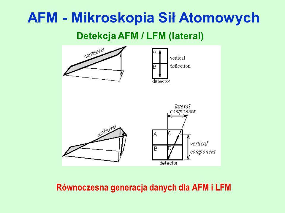 AFM - Mikroskopia Sił Atomowych
