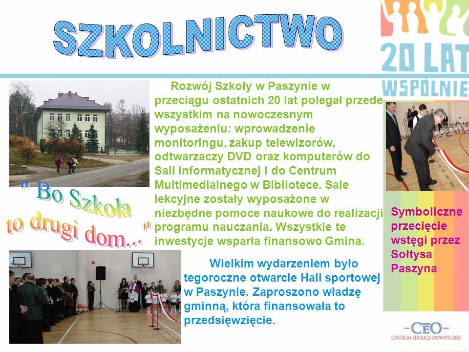 SZKOLNICTWO Bo Szkoła to drugi dom...