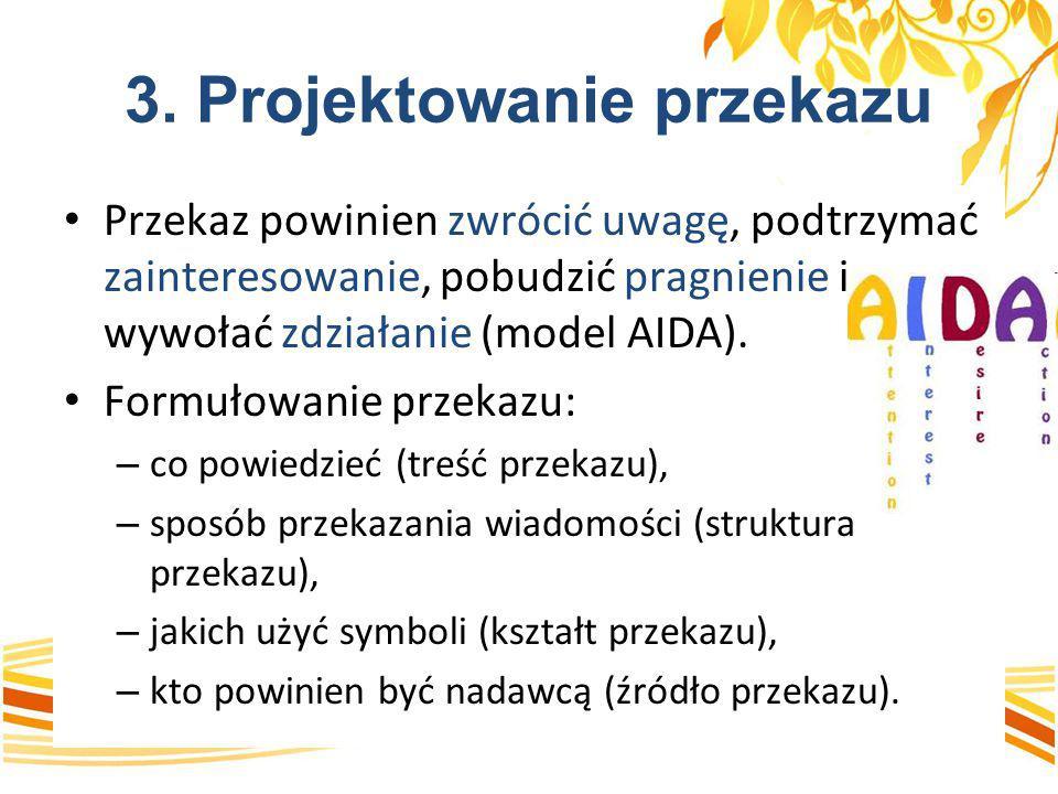 3. Projektowanie przekazu