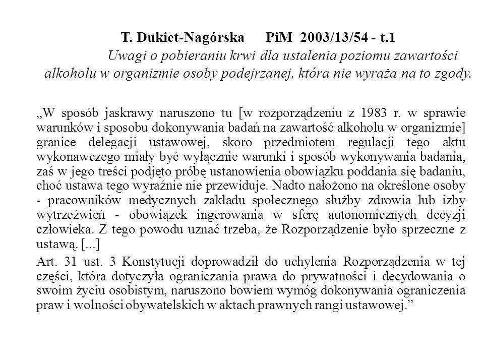 T. Dukiet-Nagórska. PiM 2003/13/54 - t. 1